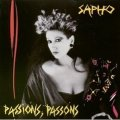 SAPHO / PASSIONS, PASSONS 【LP】 FRANCE盤 ORG.