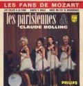 LES PARISIENNES / LES FANS DE MOZART 【7inch】 EP FRANCE盤 ORG. レ・パリジェンヌ