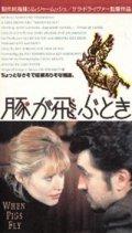 豚が飛ぶとき 【VHS】 サラ・ドライヴァー 1993年 マリアンヌ・フェイスフル レイチェル・ベラ 音楽ジョー・ストラマー