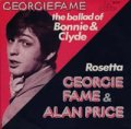 GEORGIE FAME/THE BALLAD OF BONNIE AND CLYDE // GEORGIE FAME & ALAN PRICE / ROSETTA 【7inch】 CBS HOLLAND